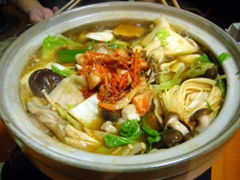 キムチ鍋〜♪