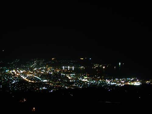 毛無山からの夜景その1