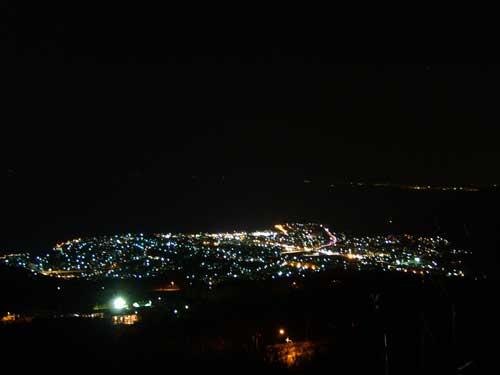 毛無山からの夜景その2
